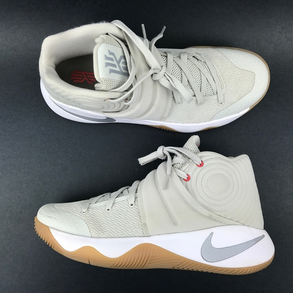 the best attitude b0cb6 2803d Nike Kyrie 2 Tan Basketball Shoes Mens Size 8.5. M 5c641dca409c153f92136471